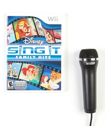 Disney Sing It! Family Hits Video Game for Nintendo Wii
