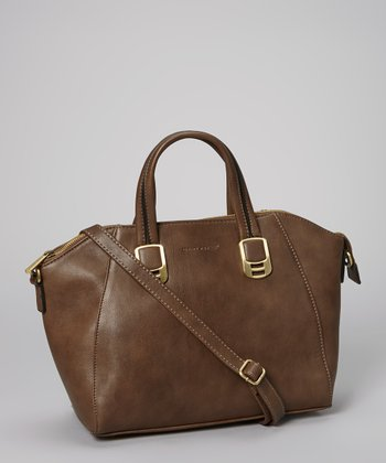 Dark Brown Satchel