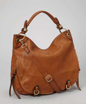 Camel Zipper Hobo