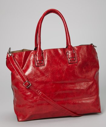 Bordeaux Distressed Tote