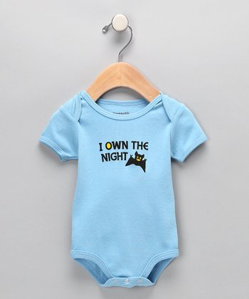 Blue 'I Own the Night' Bodysuit - Infant