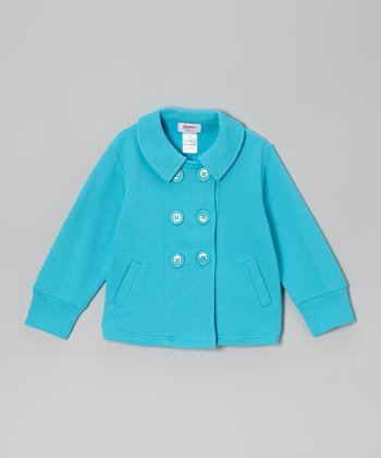 Aqua Terry Jacket - Infant & Toddler