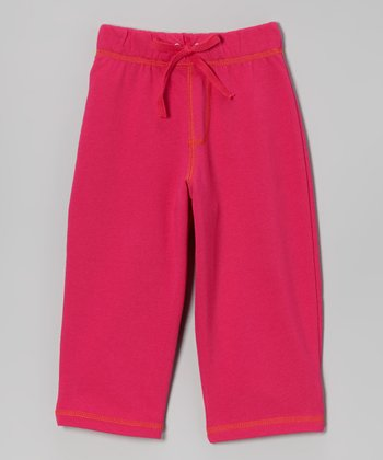 Fuchsia Terry Pants - Toddler
