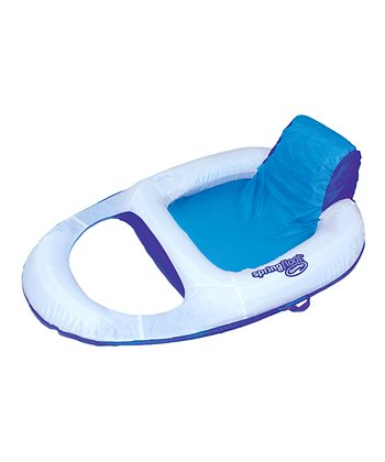 White Spring Float Recliner