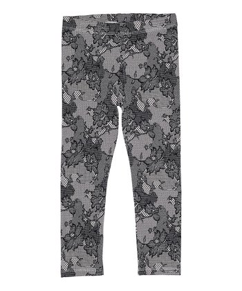 Soy Lace Leggings - Toddler & Girls