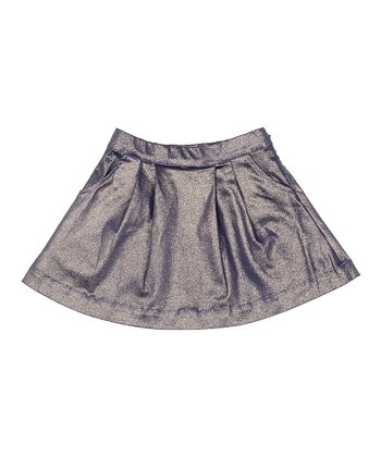 Dark Carbon Circle Skirt - Toddler & Girls