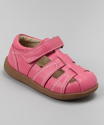 Hot Pink Ryan Closed-Toe Sandal