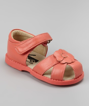 Peach Willa Sandal