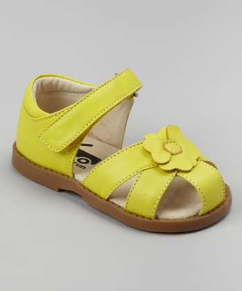 Yellow Willa Sandal