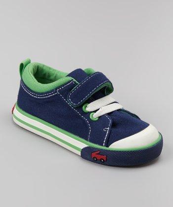 See Kai Run Navy Stevie Sneaker