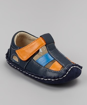 Blue Smaller Luke Closed-Toe Sandal