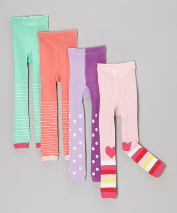 Assorted Organic Tights Set