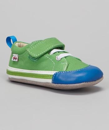 See Kai Run Green Cody Sneaker