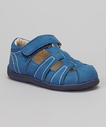 Blue Ryan Closed-Toe Sandal