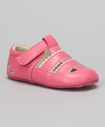 Hot Pink Brook Closed-Toe Sandal