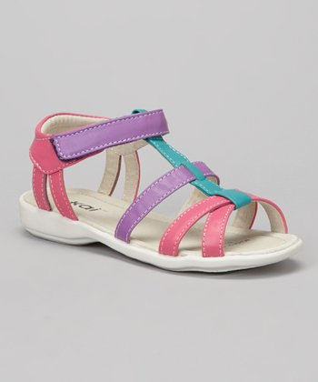Hot Pink & Purple Harper Sandal