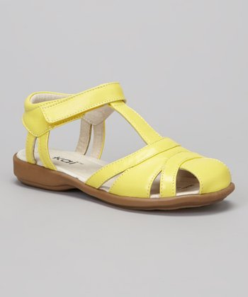 Yellow Raquel Sandal