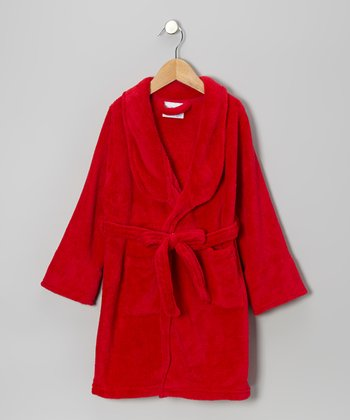 Red Bathrobe - Toddler
