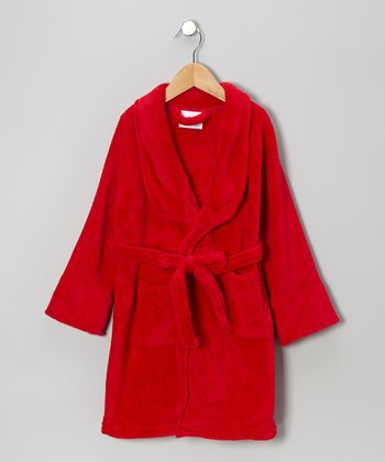 Red Bathrobe - Girls