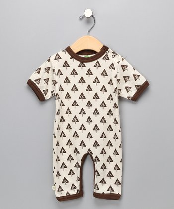 Brown Tree Organic Playsuit - Infant