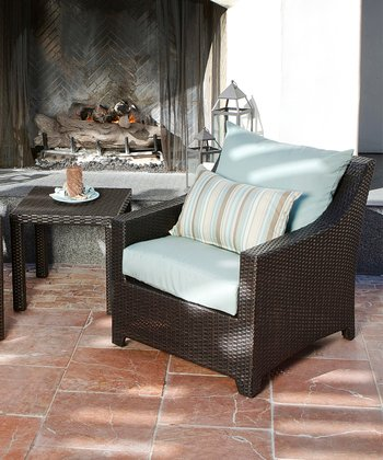 Bliss Club Chair Three-Piece Set