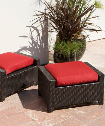 Cantina Club Ottoman - Set of Two