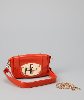 Orange Sky Crossbody Bag