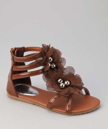 Brown Apple Gladiator Sandal