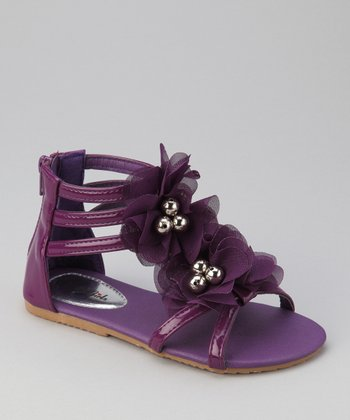 Purple Apple 6 Gladiator Sandal