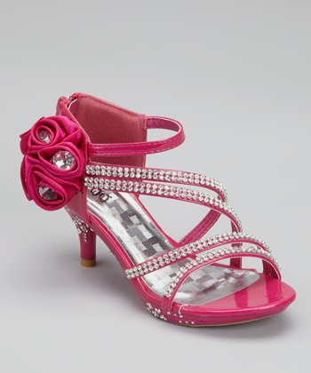 Fuchsia Party 5 Sandal