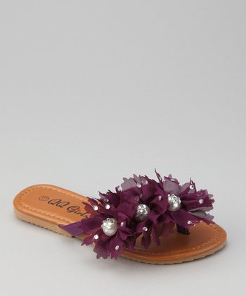 Purple Play Sandal