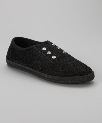 Black Diamond Slip-On Sneaker