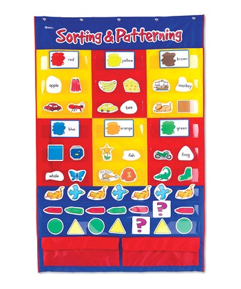 Sorting & Patterning Pocket Chart Set