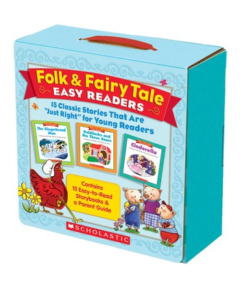 Folk & Fairy Tale Easy Readers Parent Pack Paperback Set