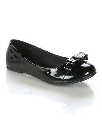 Black Posa Ballet Flat
