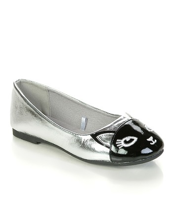 Black & Silver Cat Flat