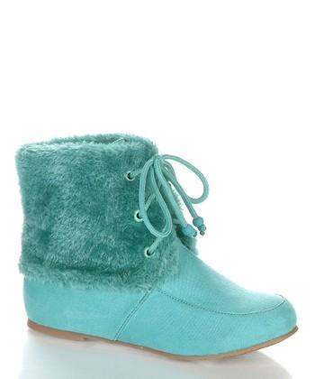 Sea Green Wooler Boot
