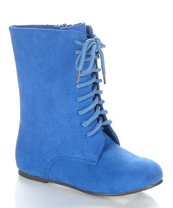 Royal Blue Echoma Boot