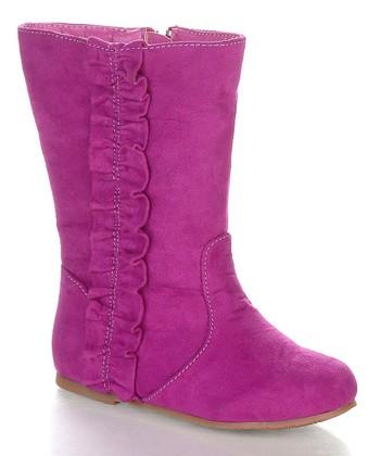 Magenta Kikomo Boot