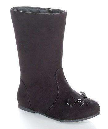 Black Raniya Boot
