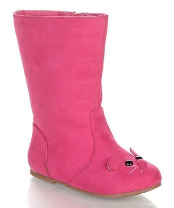 Fuchsia Raniya Boot
