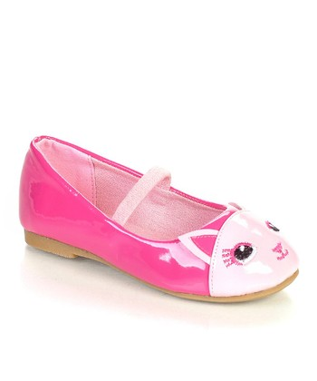 Pink & Fuchsia Cattie Flat