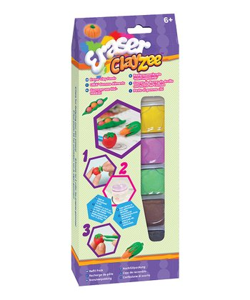 Food Six-Pack Clay Eraser Kit