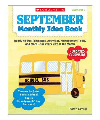 September Monthly Idea Paperback