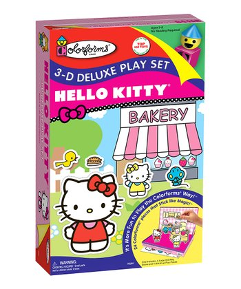 Hello Kitty 3-D Deluxe Play Set