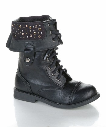 Black Pueele Boot