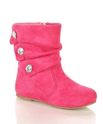 Fuchsia Bemoton Boot