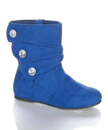 Royal Blue Bemoton Boot