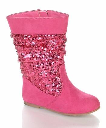 Fuchsia Sarago Boot