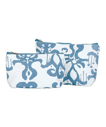 Azure Persia Zip Bag Set